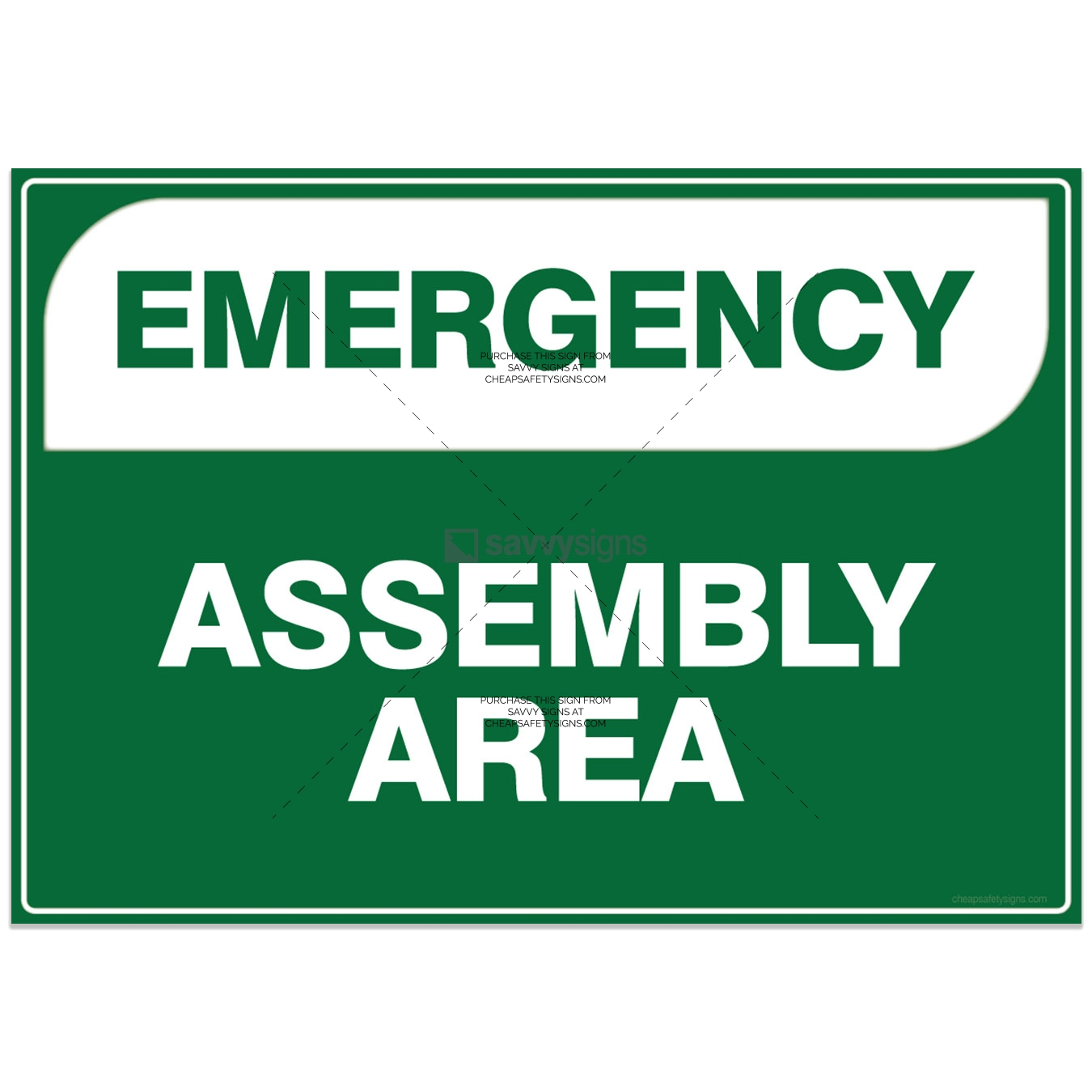 SSEM3000A-Emergency-Assembly-Area-Workplace-Safety-Signs-savvysigns