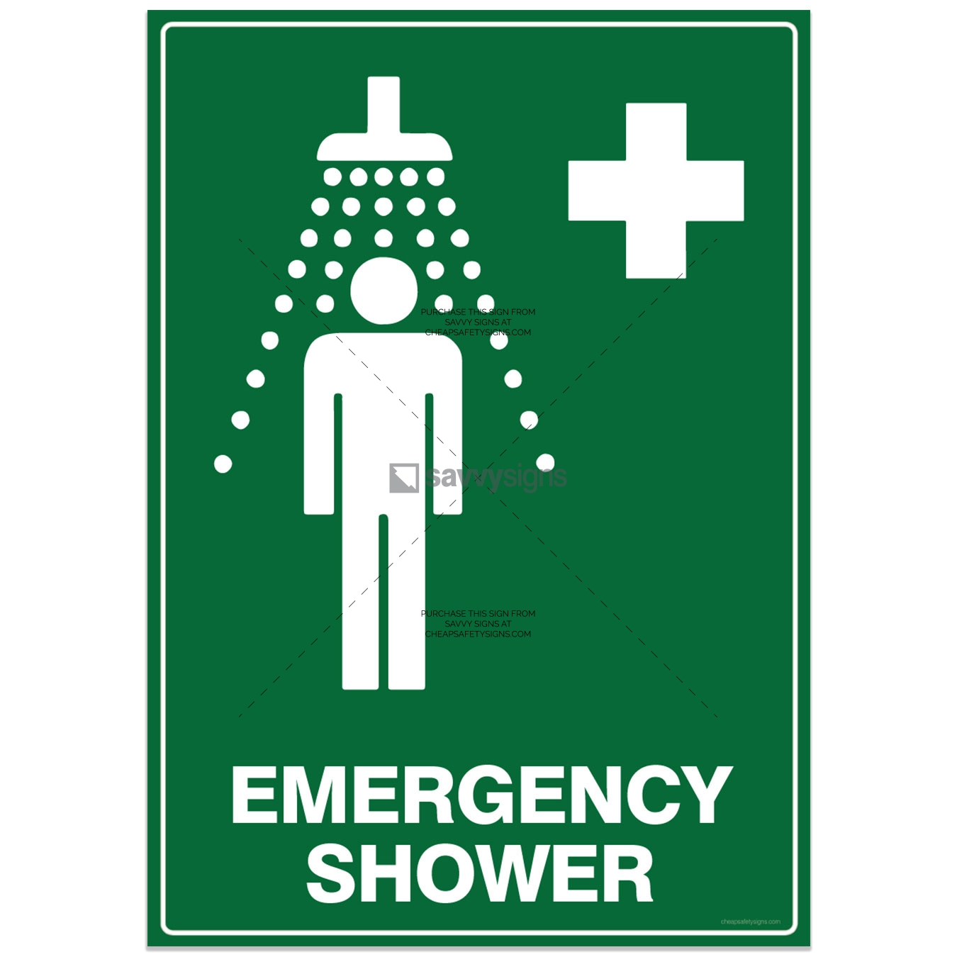 SSEME3028-EMERGENCY-Shower-with-Pictogram
