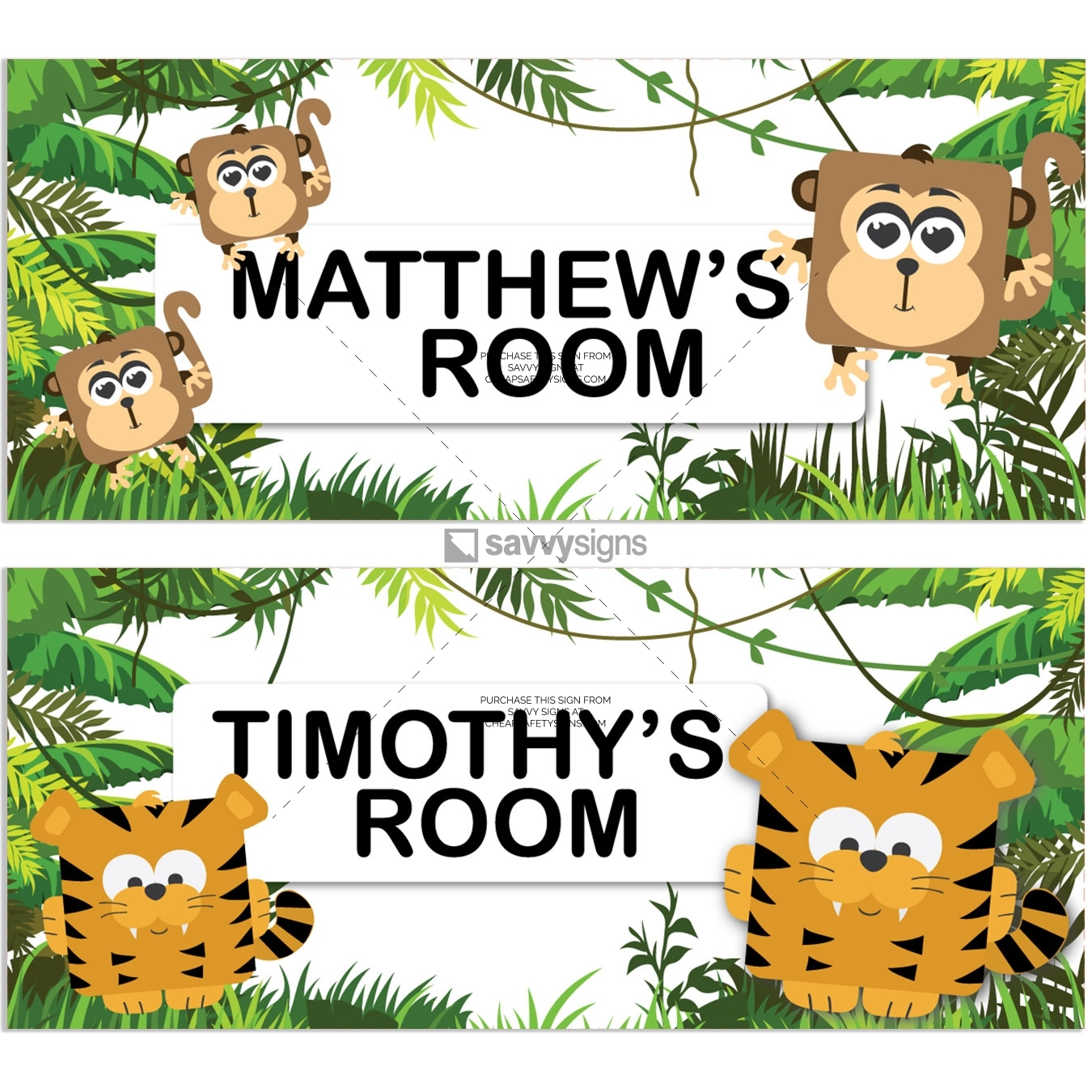 SSFUN3-Jungle-D-Kids-Bedroom-Door-Sign_Savvy-Signs_v1