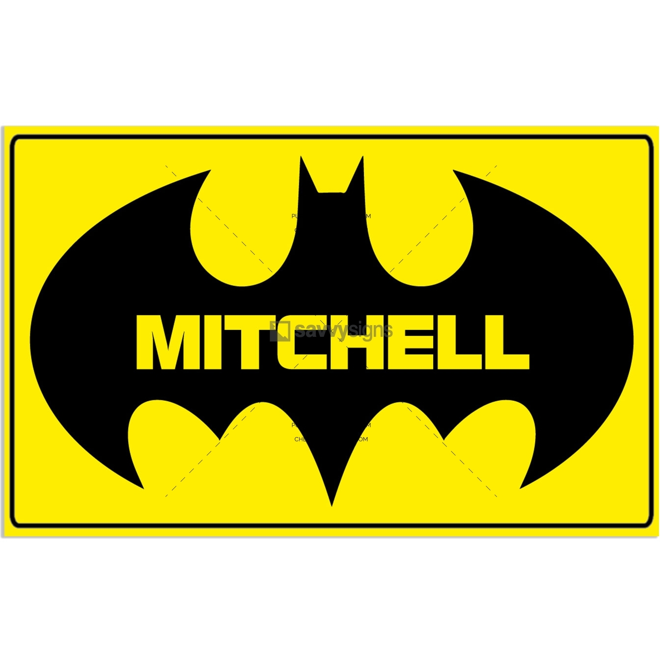 SSFUN3041-Batman-Mitchell-Kids-Bedroom-Door-Sign_Savvy-Signs_v1