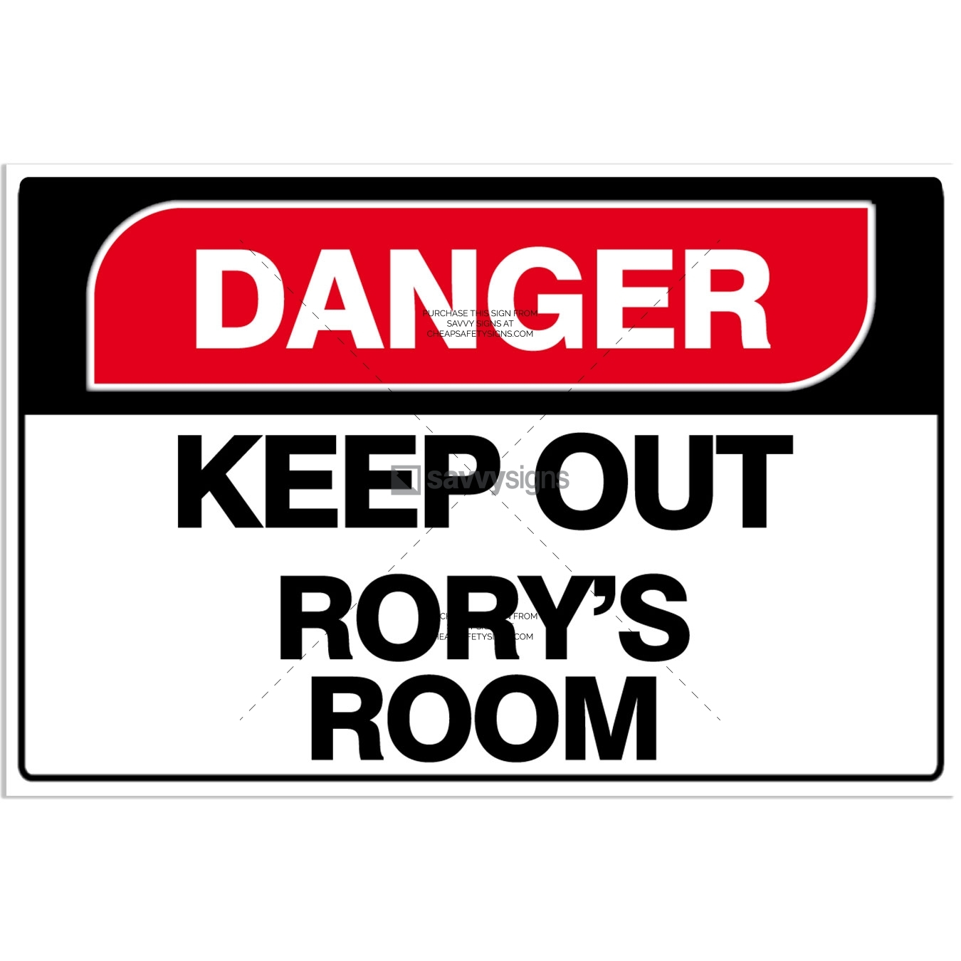 SSFUN3045-Danger-B-Kids-Bedroom-Door-Sign_Savvy-Signs_v1