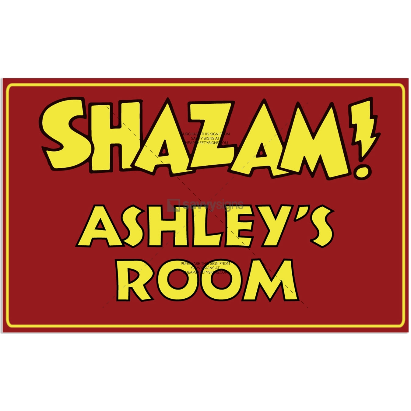 SSFUN3046-Shazam-Ashley-Kids-Bedroom-Door-Sign_Savvy-Signs_v1