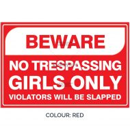 SSFUN3050-Girls-Only-14-Red-Bedroom-Door-Sign_Savvy-Signs_v1