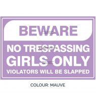 SSFUN3050-Girls-Only-9-Mauve-Bedroom-Door-Sign_Savvy-Signs_v1
