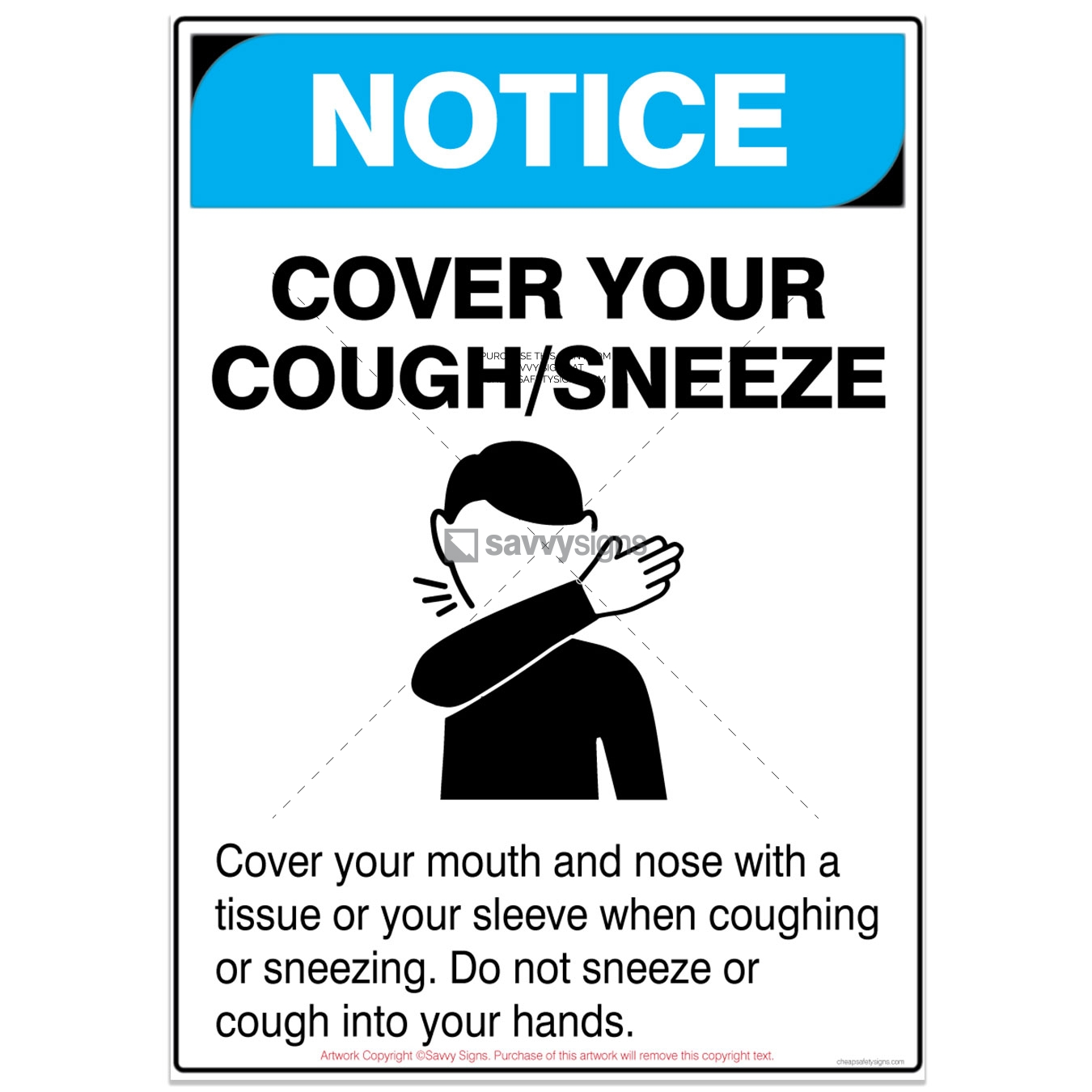 SSNOCOV3P015-COVID19-NOTICE-Cover-Your-Mouth-With-Sleeve-Safety-Signs_vsq3
